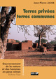 Terres privées, terres communes De Jean-Pierre Jacob - IRD Éditions